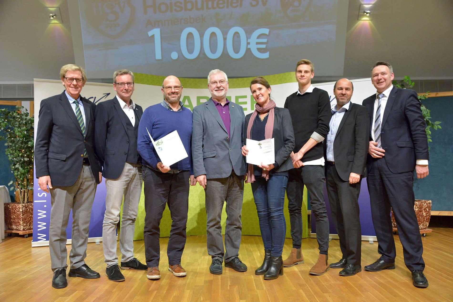 7763fc4055c3bc LSV-BARMER-Breitensportpreis 2017 – Hoisbütteler Sportverein